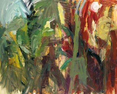 Sans titre - 2004 - huile sur toile - 130x162 cm