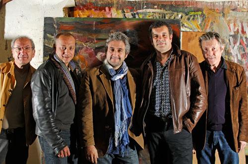 L'association des encadreurs associés par l'amitié pour Michel de Matteis (Alain Basset, Jerome Schmider, Thierry Bonan, Gilles Demange, Alain Chevrette)